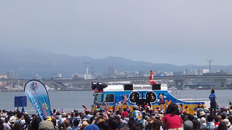 """みんなで踊ろうおんどこどん!の""""ミッキー音頭""""in函館そしていよいよ7月からはパークへ!のイメージ"""