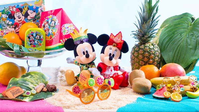 夏を彩る♪スペシャルグッズで夏のパークをもっと楽しんじゃおう!のイメージ