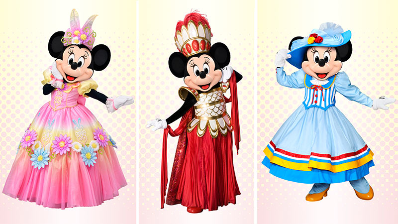 「ミニーのファッションコレクション」結果発表!のイメージ