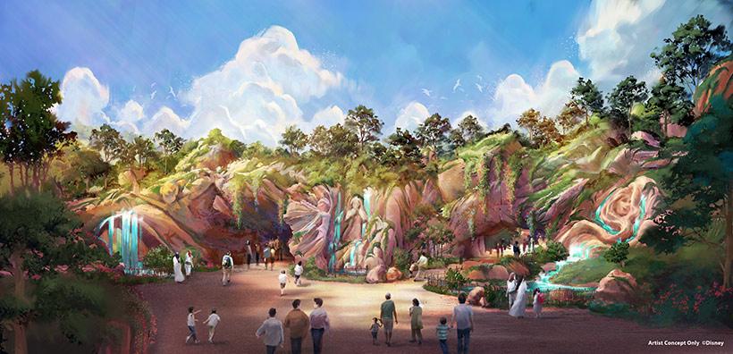 ファンタジースプリングス入口(昼)の画像
