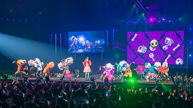 東京ガールズコレクションでおしゃれで華やかな「ディズニー・ハロウィーン」ステージを実施!のイメージ