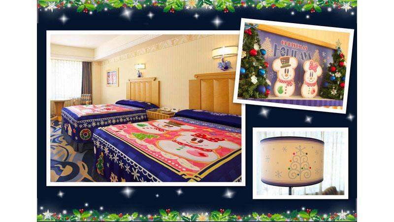 もうすぐ始まる!ディズニーホテルのクリスマス♪のイメージ