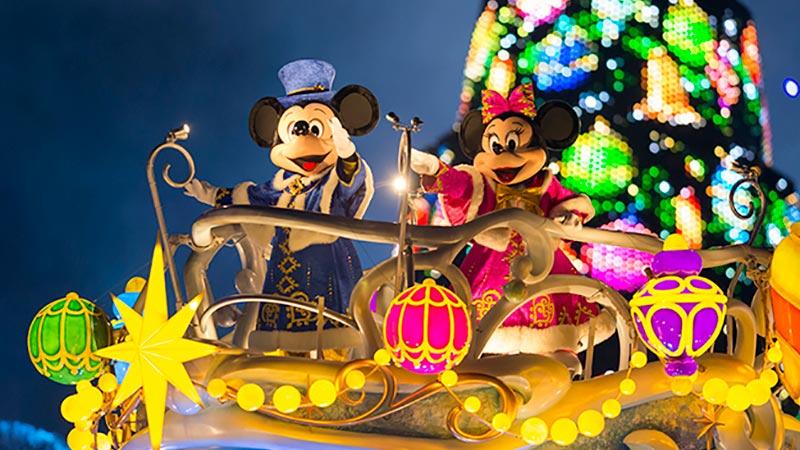もうすぐクリスマスのスペシャルイベントスタート♪ パーク中がクリスマスムードに!のイメージ