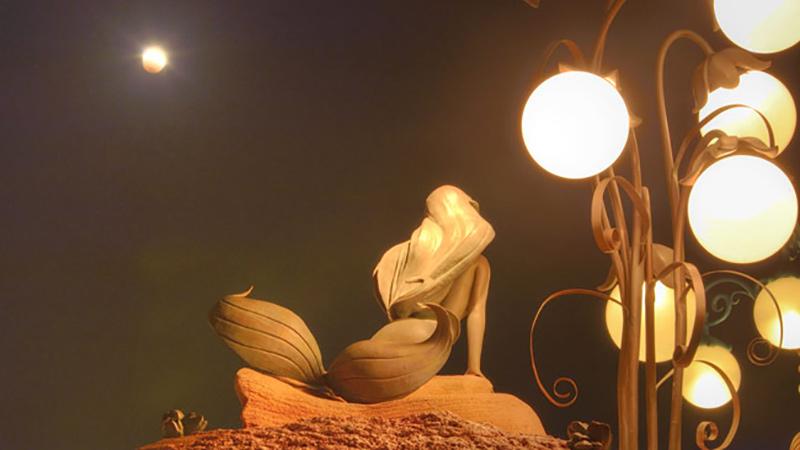 パークから観測する皆既月食のイメージ