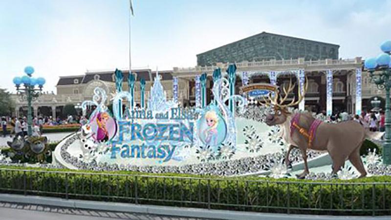 【広報リリース】1~3月の東京ディズニーリゾートのイメージ