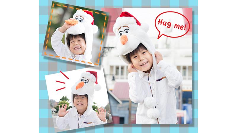 パークで大人気のキャラクターグッズが、クリスマススペシャルバージョンになって登場!のイメージ