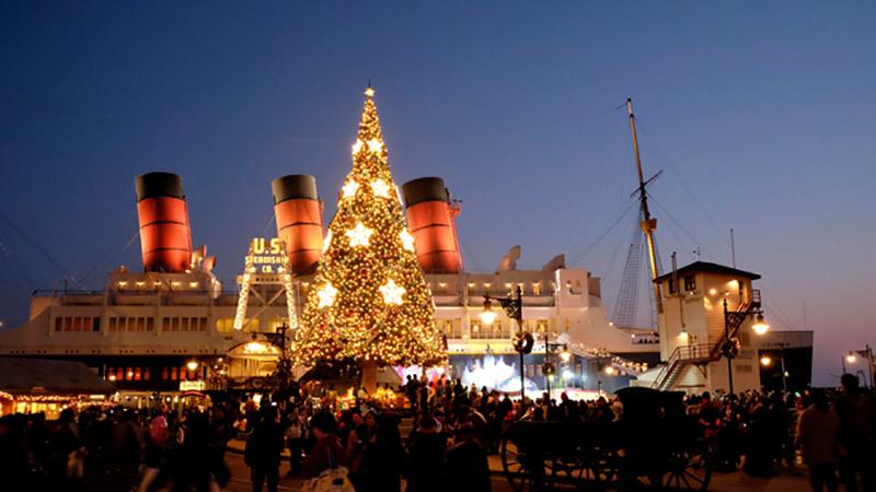 東京ディズニーシーから、みなさんにクリスマスプレゼントが♪のイメージ
