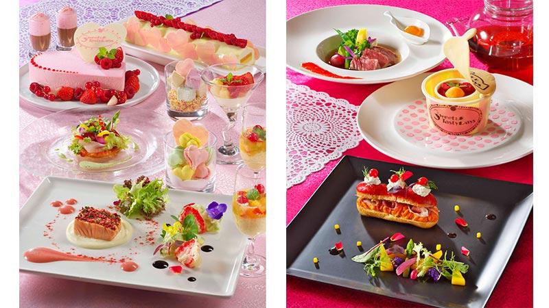 ディズニーアンバサダーホテルのレストランイベント「スウィート&テイスティ・デイズ」でシェフこだわりのスウィーツを♪のイメージ