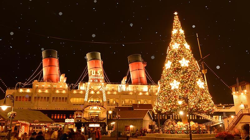ホワイトディズニークリスマスのイメージ