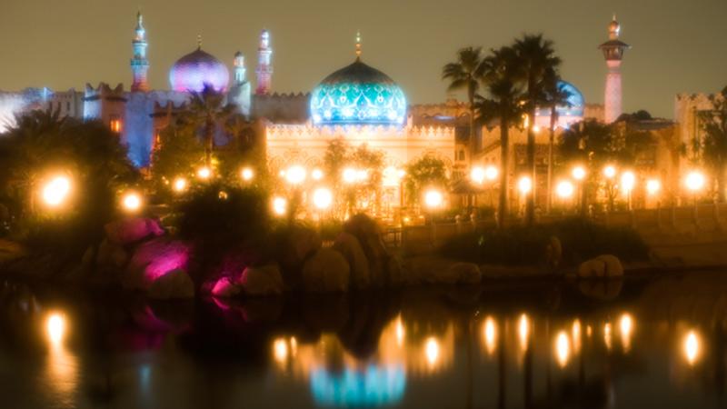 ジーニーがつくった街、アラビアンコーストで過ごす魅力的な夜♪のイメージ