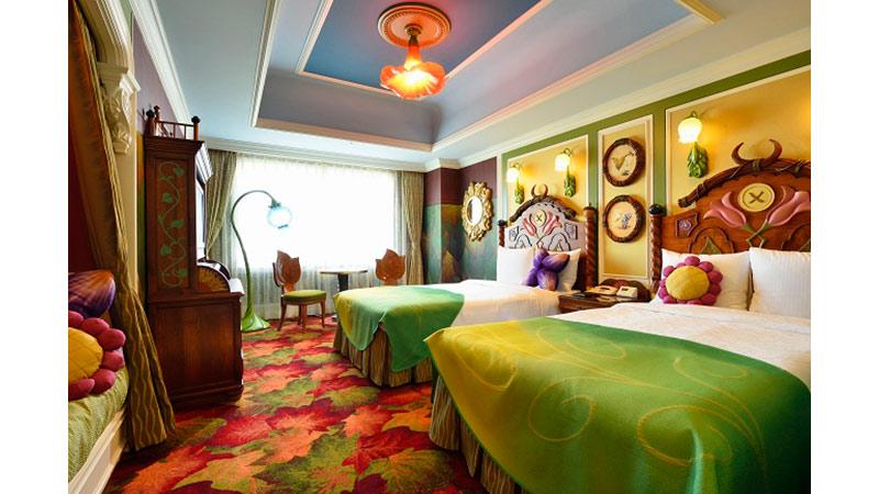 大公開♪東京ディズニーランドホテルの新キャラクタールームに潜入!のイメージ