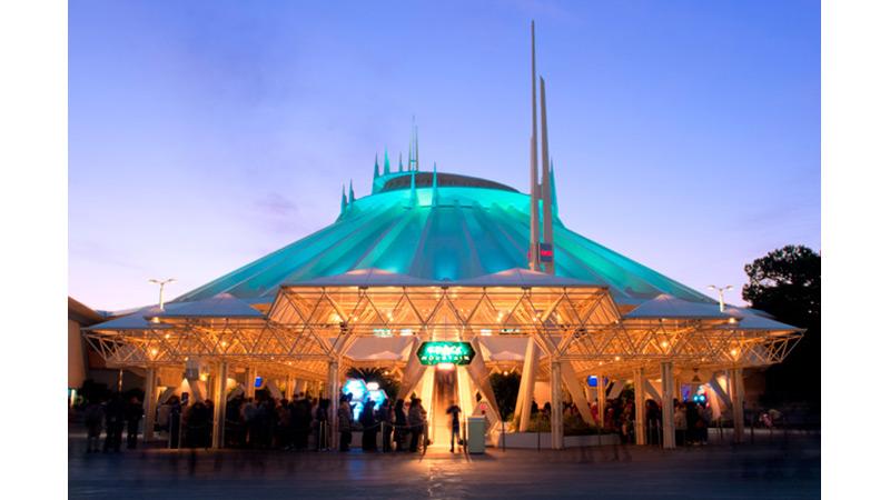 「夢がかなう場所」東京ディズニーリゾートから宇宙旅行へ出発!のイメージ