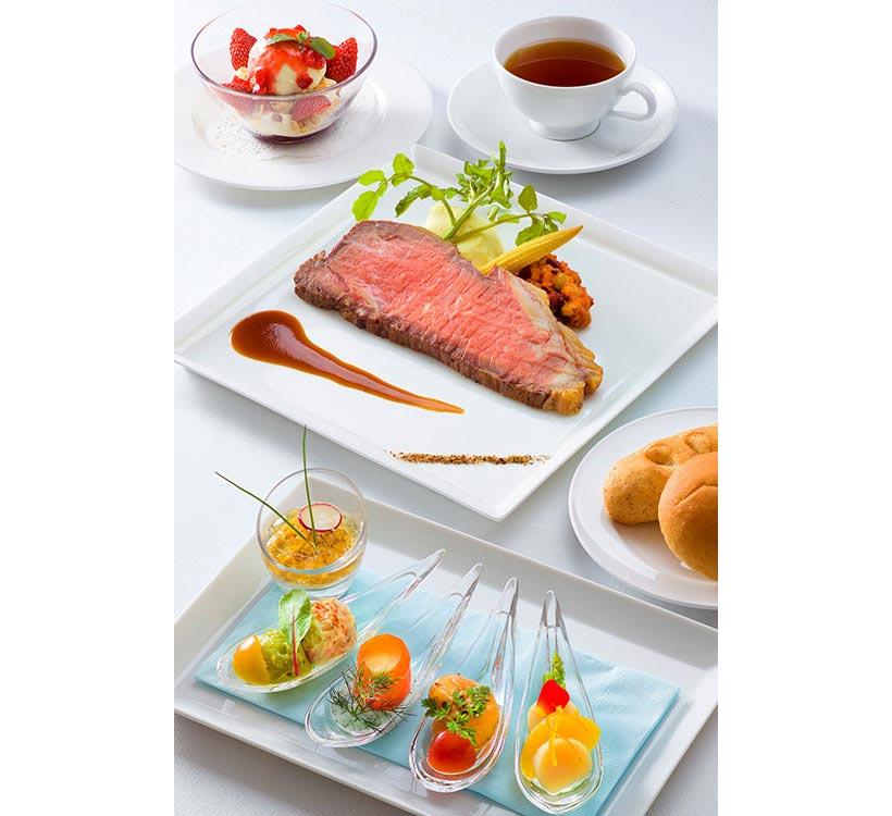 東京ディズニーランド,ブルーバイユーレストラン,レストラン,オードブル