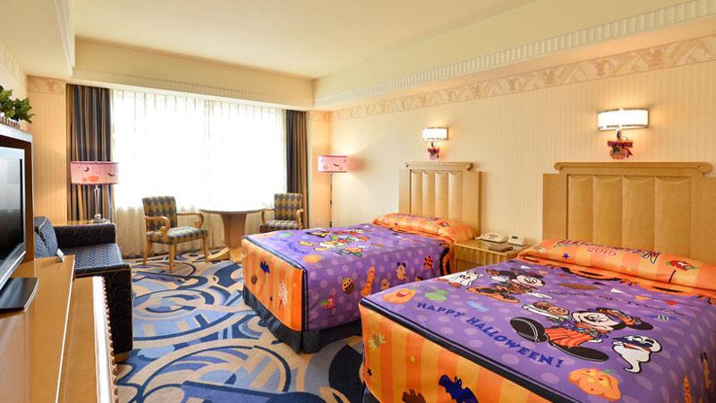 ディズニーアンバサダーホテルの客室でイベント気分を味わっちゃおう!のイメージ