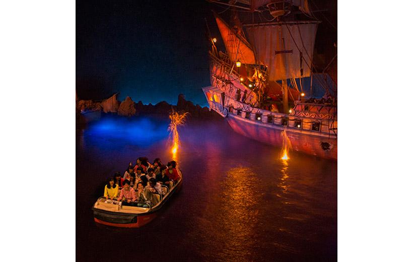 東京ディズニーランド,カリブの海賊