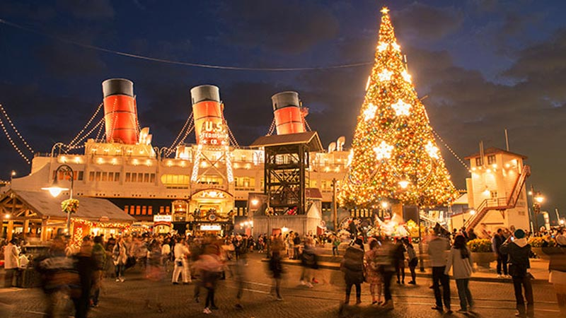 東京ディズニーリゾートのとっておきのクリスマスがまもなくスタート☆のイメージ