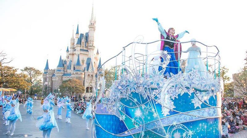 ディズニー映画『アナと雪の女王』の世界へようこそ♪東京ディズニーリゾート・バケーションパッケージのイメージ