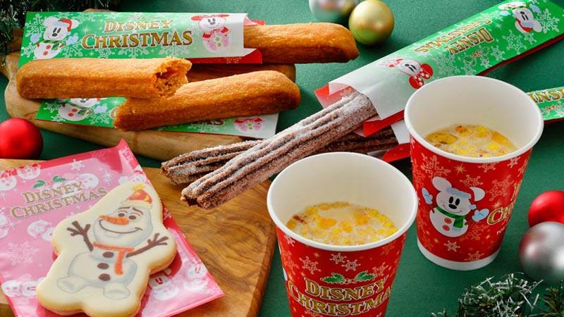 食べ歩きにぴったり☆クリスマス・ファンタジーのスペシャルメニュー!のイメージ
