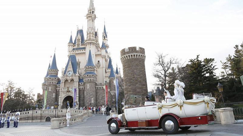 気分はまるでディズニープリンセス♪東京ディズニーランドで夢のようなウェディングを。のイメージ