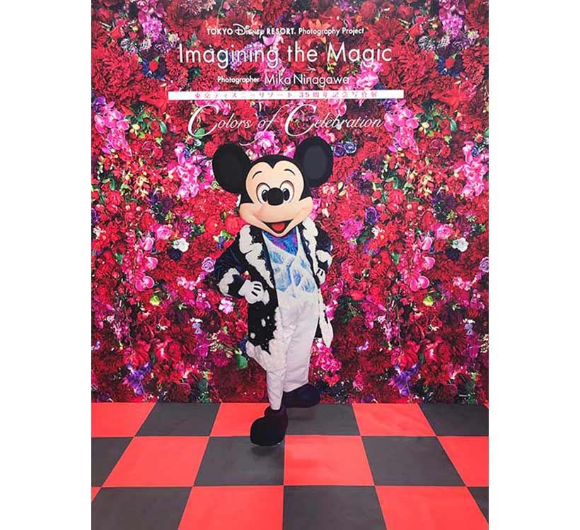 東京ディズニーリゾート・フォトグラフィープロジェクト「イマジニング・ザ・マジック」写真展,写真家の蜷川実花さん,ミッキー,フォトロケーション