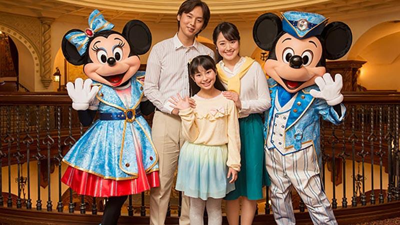 東京ディズニーシーの15周年をお祝い!ディズニーのキャラクターとふれあえる特別な宿泊プランを販売中です♪のイメージ