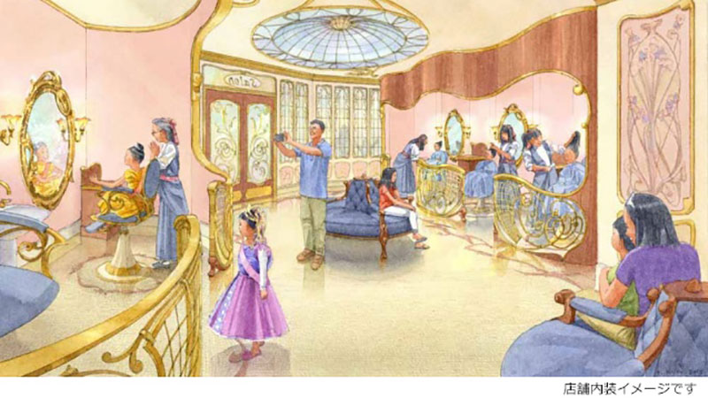 【ニュース!】東京ディズニーランド内に 「ビビディ・バビディ・ブティック」が2017年春オープン!のイメージ