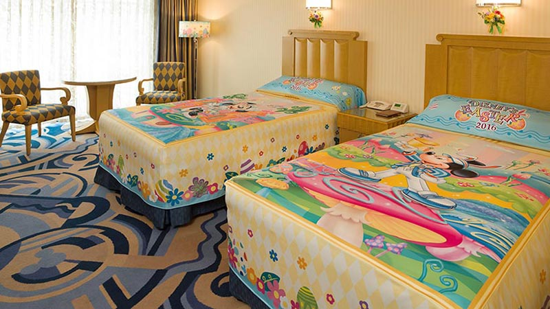 お楽しみがいっぱい!「ディズニー・イースター」の世界をホテルでも♪のイメージ