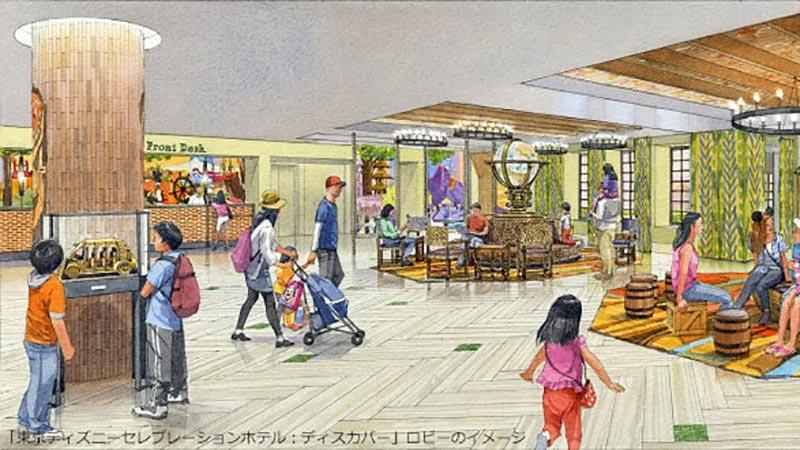 【ニュース!】ディズニーホテル 「東京ディズニーセレブレーションホテル」 第2棟のオープン日が2016年9月10日(土)に決定!のイメージ