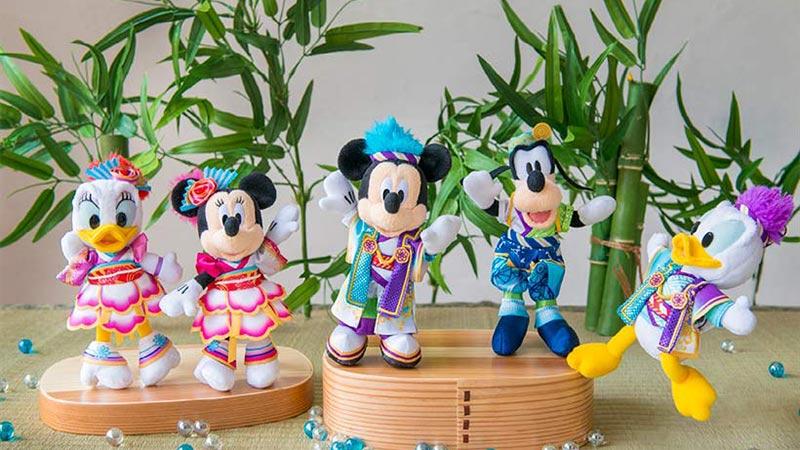 ディズニー夏祭りのスペシャルグッズで、おもいっきり盛り上がろう!のイメージ