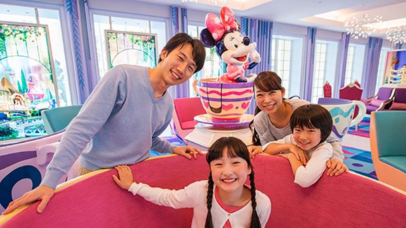 パークでおもいっきり遊んだあとは、ラクラク宿泊♪東京ディズニーセレブレーションホテルのイメージ