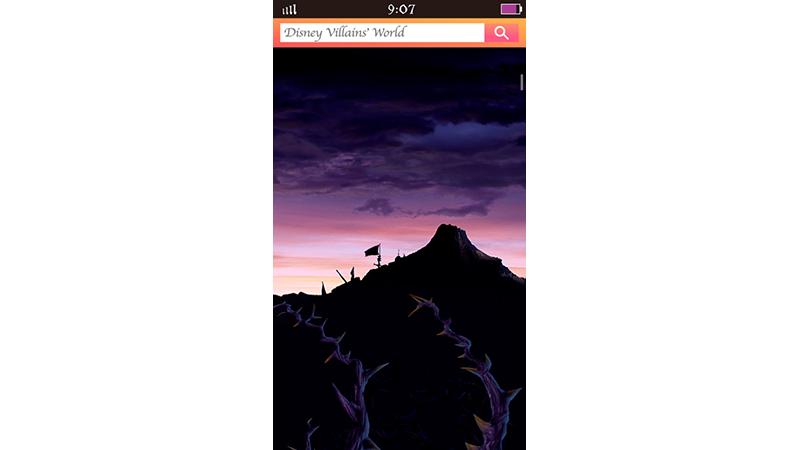あなたのスマートフォンがディズニーヴィランズに・・・!?のイメージ