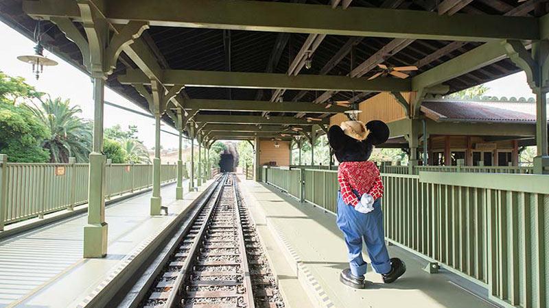 """""""ウエスタンリバー鉄道""""に乗って、鉄道の旅に出発!のイメージ"""