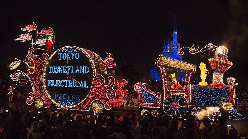 「東京ディズニーランド・エレクトリカルパレード・ドリームライツ」リニューアルのお知らせのイメージ