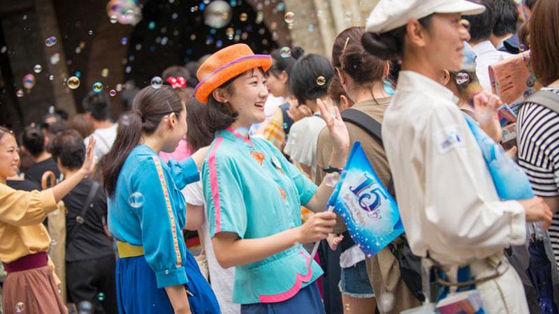 本日9月4日(日)、東京ディズニーシーは開園15周年を迎えました!のイメージ