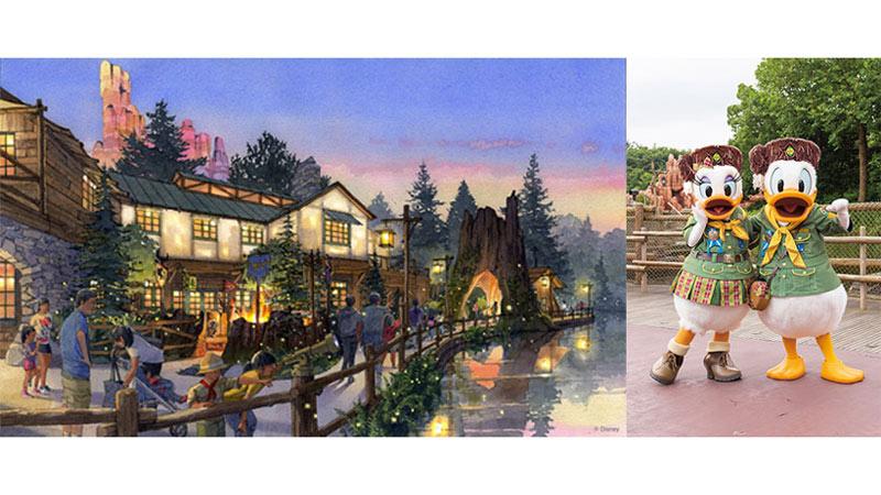 東京ディズニーランド新エリア「キャンプ・ウッドチャック」プレビュー体験キャンペーン開催のイメージ