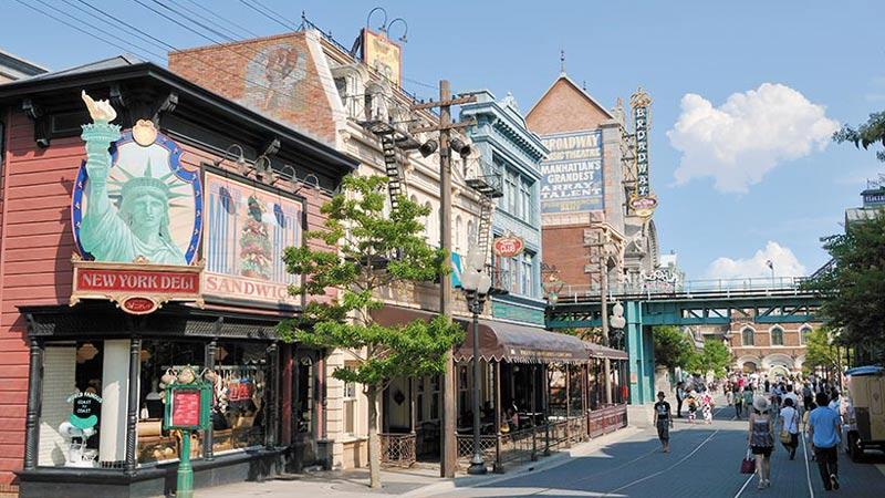 時間や季節によって変わる、東京ディズニーリゾートのいろんな表情。~アメリカンウォーターフロント編~のイメージ