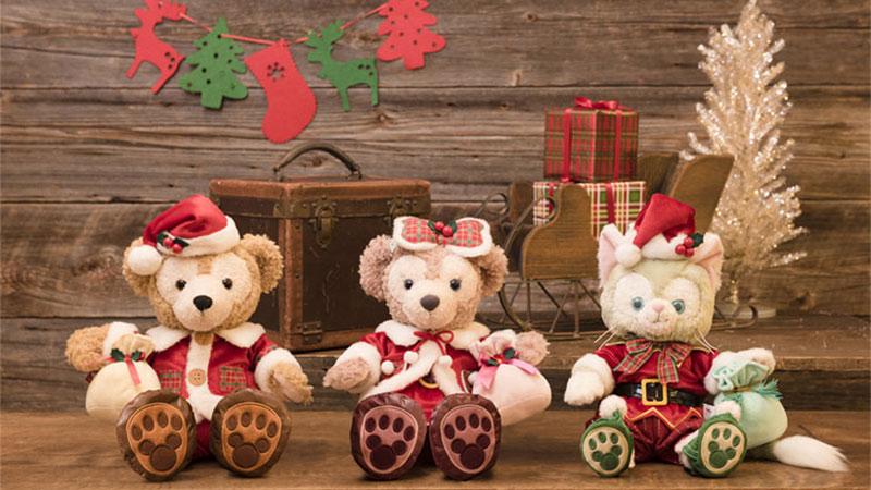 サンタクロース姿のダッフィーがやってきた!今年は、ほっこりクリスマスを♪のイメージ