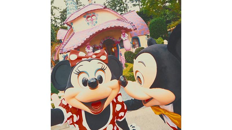 ミッキーとミニーのお誕生日デートをのぞいてみました♡のイメージ