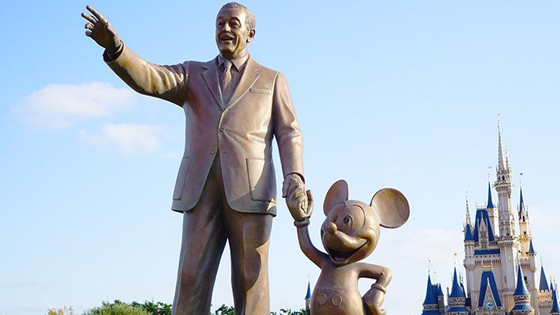 今日はウォルト・ディズニーのお誕生日のイメージ