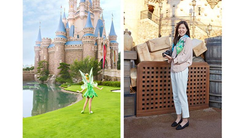 """「イマジニング・ザ・マジック」ならではのピーターパンのグッズを身に着けて""""You can fly !""""のイメージ"""