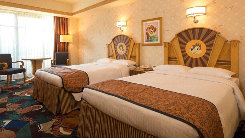 ディズニーアンバサダーホテルに新登場!「チップとデールルーム」「スティッチルーム」って、どんなお部屋??のイメージ