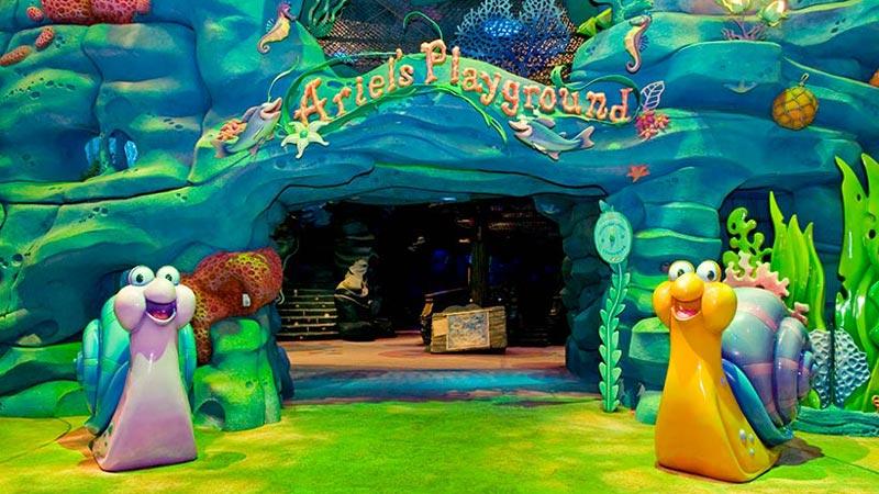 アリエルのお気に入りの場所を探険してみよう!のイメージ
