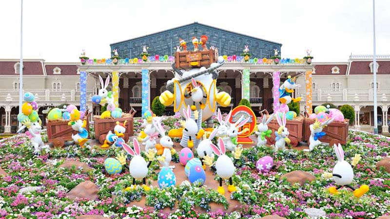 今年は2つのパークで開催♪「ディズニー・イースター」本日からスタート!のイメージ