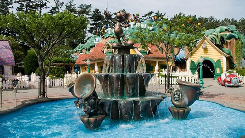 トゥーンタウンの噴水にまつわるエトセトラのイメージ
