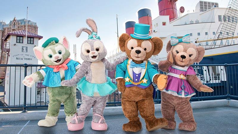 東京ディズニーシーのドックサイドステージで新ショー「ステップ・トゥ・シャイン」スタート!のイメージ