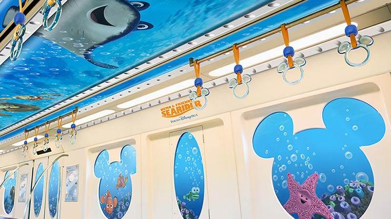 海中を進むリゾートライナー!?「ニモ&フレンズ・ライナー」がいよいよ運航!のイメージ