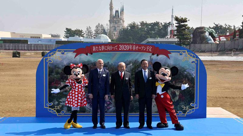 【本日、起工式を開催!】東京ディズニーランド 大規模開発のイメージ