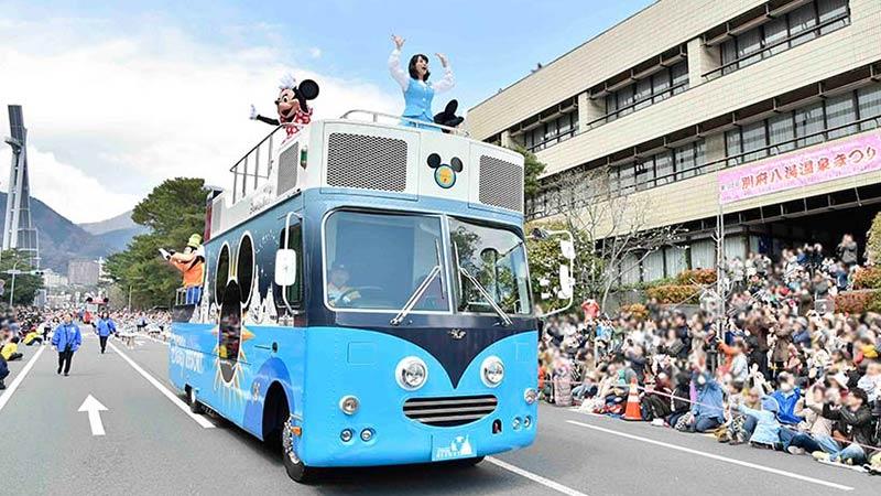 ミッキーたちが今年も全国のお祭りに参加!あなたの街にも訪問するかも!?のイメージ