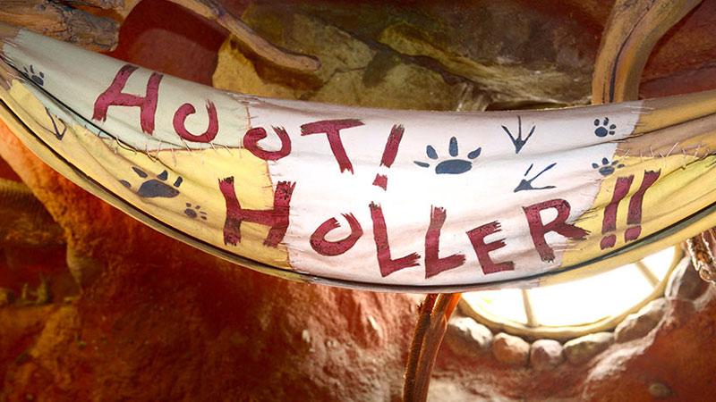 子どもたちがつくった洞窟の中の隠れ家♪のイメージ