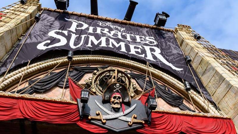 海賊たちが東京ディズニーシーをジャック!?今日、夏のイベントがスタート!のイメージ